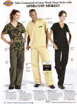 Dickies catalog