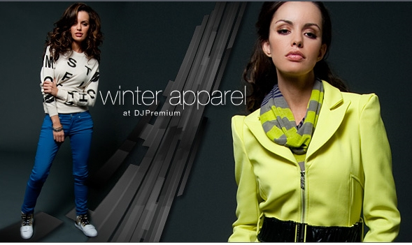 winter apparel at DJPremium