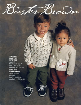 Buster Brown catalog cover