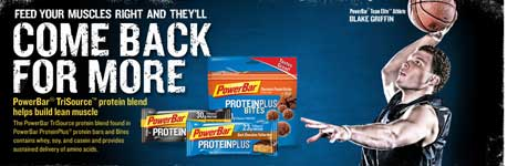 PowerBar advertisement