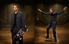 Tony Hawk - grooming and Styling of Tony Hawk by Mary Erickson