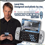Tony Hawk and T-mobile Sidekick